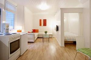 Как визуально увеличить однокомнатную квартиру