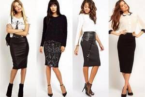 Стильные женские юбки