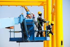 Окраска строительных металлоконструкций
