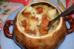 приготовление блюд в горшочках