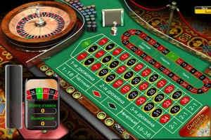 Игра в европейскую рулетку