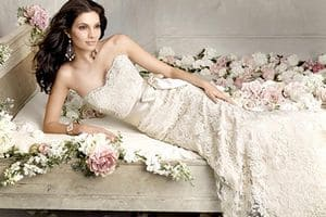 удачное свадебное платье
