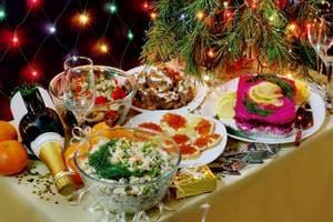 вредные продукты новогоднего стола